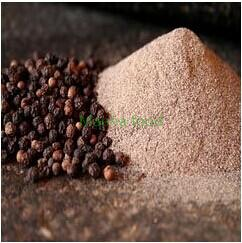 Dried black pepper powder