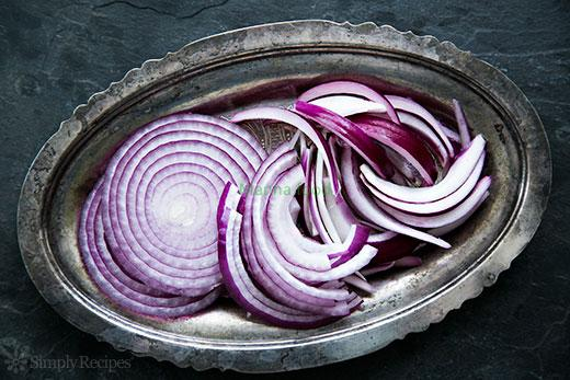 The Way of Cutting Onions slice